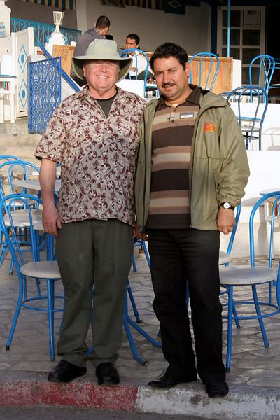 Noel & Tarek, Sidi Bou Said, Tunisia