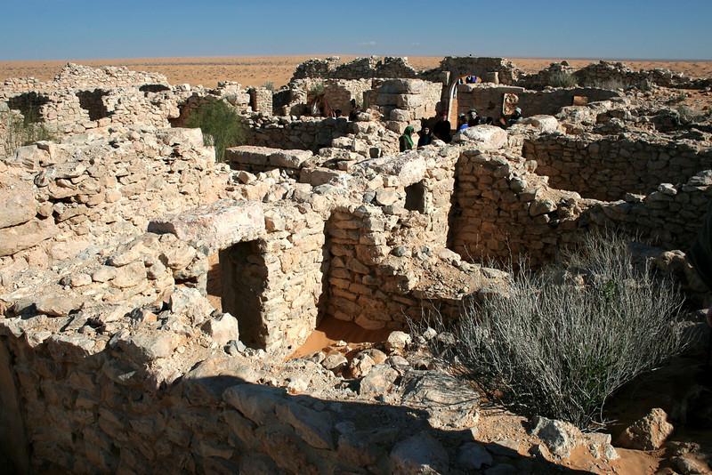 560 Roman fortress at Ksar Ghilane, Tunisia