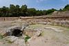 The Roman Amphitheater in the ruins of Carthage near Tunis, Tunisia.