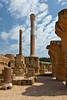 The ruins of Carthage near Tunis, Tunisia.