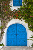 A blue door in Sidi Bou Said, Tunisia.