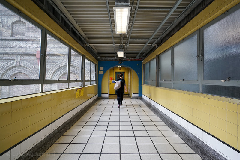 Tunnel Vision at Barbican Station