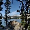 A view from Tenaya Lake trail