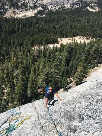 Tuolumne climbing 8/12-14/2016