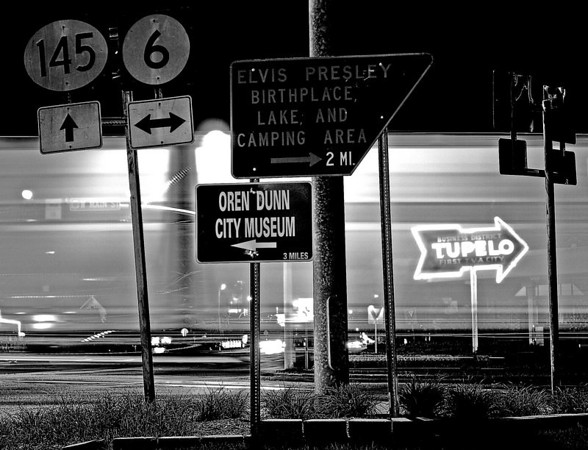 Tupelo, Mississippi birthplace of the KING