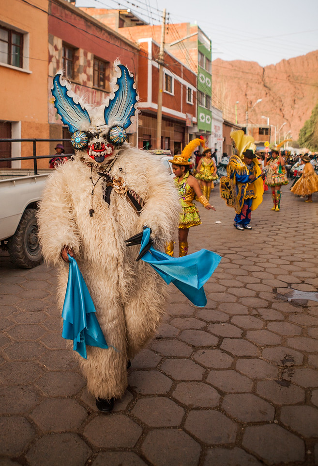 The Virgin of Guadalupe festival in Tupiza, Bolivia
