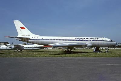 Aeroflot Russian International Airlines Tupolev Tu-104 CCCP-42322 (msn 6350103) (Christian Volpati Collection). Image: 946432.