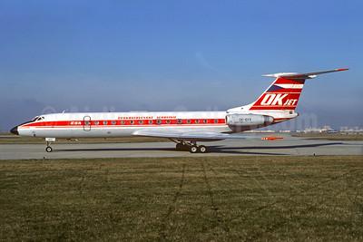 Ceskoslovenske Aerolinie-CSA (Czech Airlines) Tupolev Tu-134A OK-EFK (msn 23130) ORY (Christian Volpati). Image: 930727.