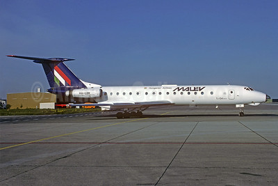 MALEV Hungarian Airlines Tupolev Tu-134A-3 HA-LBK (msn 1351302) MUC (Christian Volpati Collection). Image: 923603.