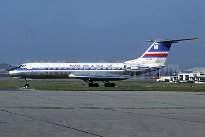 LOT Polskie Linie Lotnicze (LOT Polish Airlines) Tupolev Tu-134 SP-LGD (msn 9350805) LBG (Christian Volpati Collection). Image: 934716.