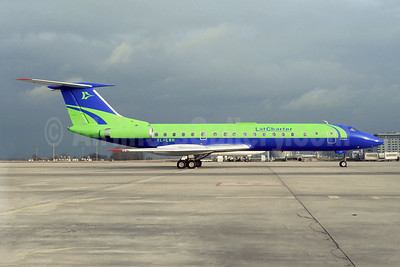 LatCharter Airlines Tupolev Tu-134B-3 YL-LBH (msn 63340) CDG (Christian Volpati). Image: 923947.