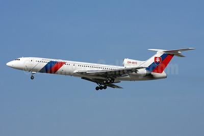 Slovenska Republika (Slovak Republic) Tupolev Tu-154M OM-BYO (msn 89A803) ZRH (Andi Hiltl). Image: 920706.