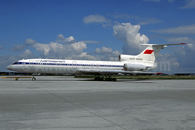 Aeroflot Russian International Airlines Tupolev Tu-154A CCCP-85062 (msn 74A062) DME (Jacques Guillem). Image: 944543.