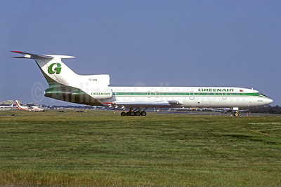 Greenair Tupolev Tu-154M TC-GRB (msn 833) LGW (Christian Volpati Collection). Image: 940902.