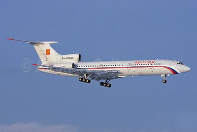 Rossiya Russian Airlines Tupolev Tu-154M RA-85843 (msn 95A-991) ZRH (Andi Hiltl). Image: 912051.