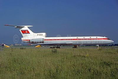 CAAK (Chosonminhang Korean Airlines) Tupolev Tu-154B P-553 (msn 77A191) PRG (Christian Volpati Collection). Image: 930470.