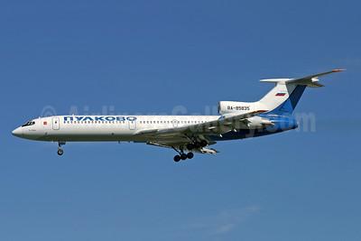 Pulkovo Aviation Enterprise Tupolev Tu-154M RA-85835 (msn 98A1015) LGW (Antony J. Best). Image: 941481.