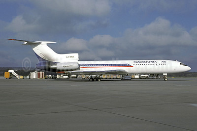 Macedonia AS Tupolev Tu-154M LZ-MNA (msn 92A908) ZRH (Christian Volpati Collection). Image: 941286.