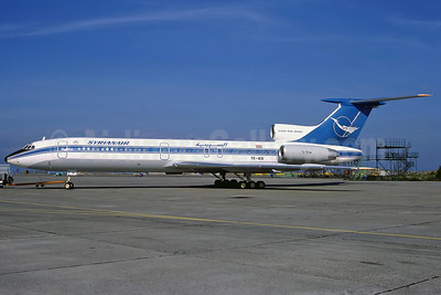 Syrianair-Syrian Arab Airlines Tupolev Tu-154M YK-AIA (msn 85A708) CPH (Perry Hoppe). Image: 910914.