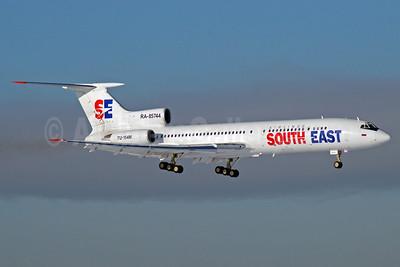 South East Airlines (Russia) Tupolev Tu-154M RA-85744 (msn 92A-927) VKO (OSDU). Image: 904505.