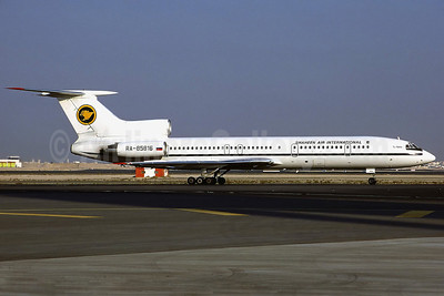 Shaheen Air International Tupolev Tu-154M RA-85816 (msn 1006) DXB (Perry Hoppe). Image: 911230.