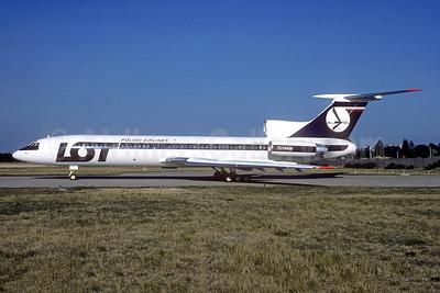 LOT Polish Airlines Tupolev Tu-154M SP-LCL (msn 89A812) ORY (Jacques Guillem). Image: 942945.
