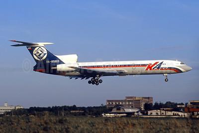 Krai Aero Air Company Tupolev Tu-154M RA-85803 (msn 89A822) VKO (Christian Volpati). Image: 945465.
