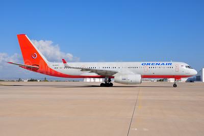 Orenair (Orenburg Airlines) Tupolev Tu-204-100 RA-64017 (msn 1450742564017) (ATU colors) AYT (Ton Jochems). Image: 953888.