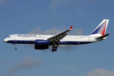 Transaero Airlines Tupolev Tu-214 RA-64518 (msn 42305018) LHR (Antony J. Best). Image: 903959.