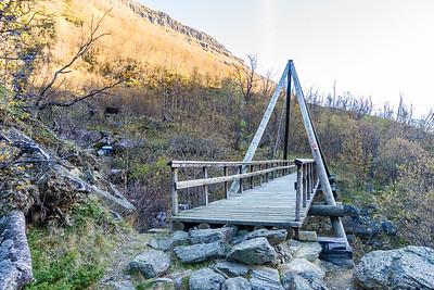 Bro over Skåkbekken
