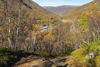 Utsikt nordover ned mot Drivdalen