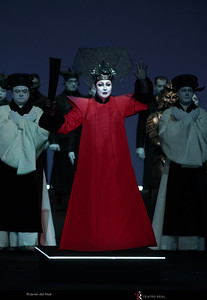 Turandot, Act II, Teatro Real Madrid, 2018