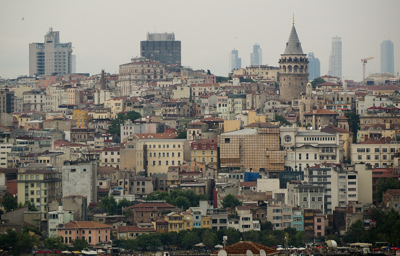 Cityscape including Galata Tower, Istanbul