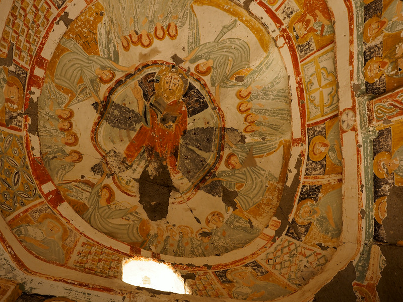 Capadoccia church detail