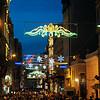 Istiklal Street, nighttime, Istanbul