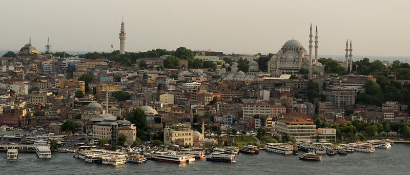 Istanbul cityscape