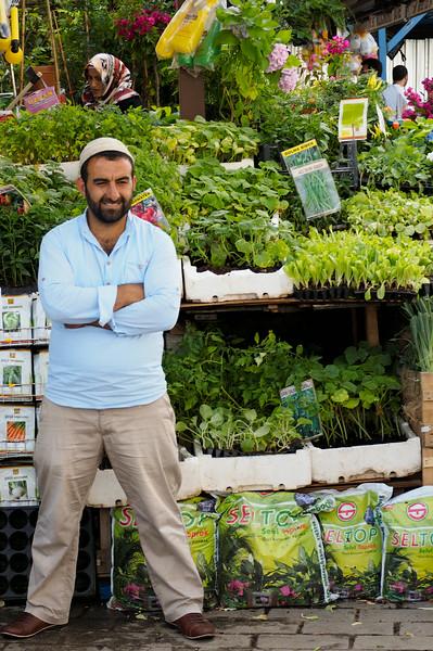 Plant seller, Istanbul