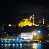 New Mosque at night, Istanbul