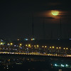 Moonrise over Bosphorus Bridge, Istanbul