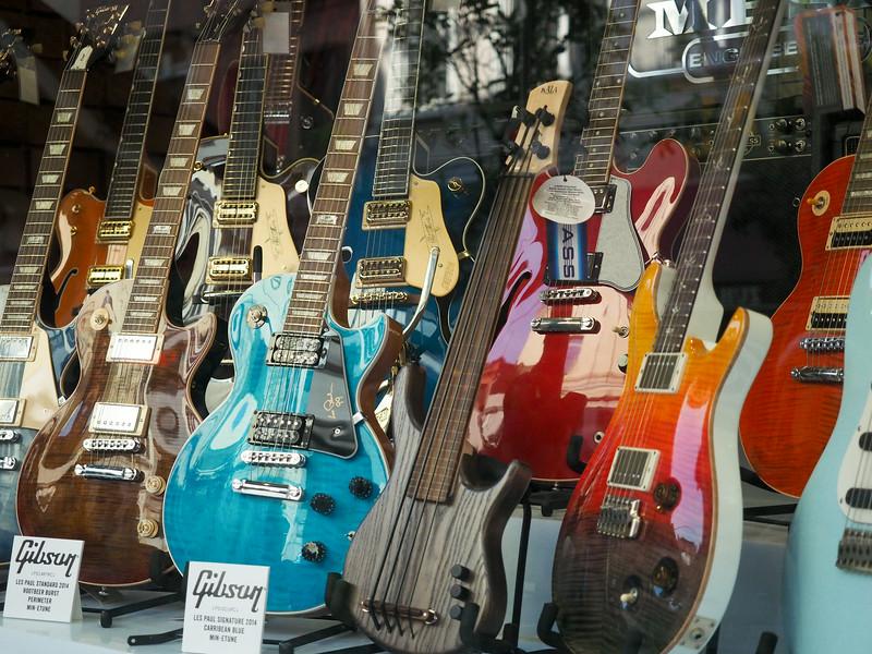 Music shop, Istanbul