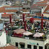 Rooftop restaurant, Istanbul