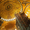Hagia Sophia main dome, interior restoration