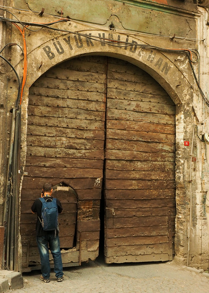 Caravenserai entrance,  Istanbul
