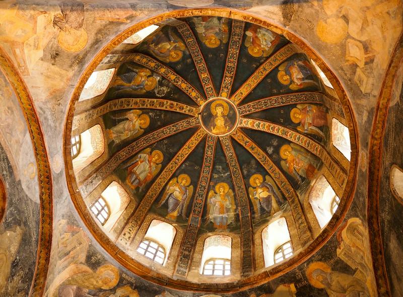 Chora Church dome, Istanbul