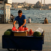 Watermelon vendor, Karakoy, Istanbul