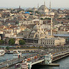 Galata Bridge and cityscape, Istanbul