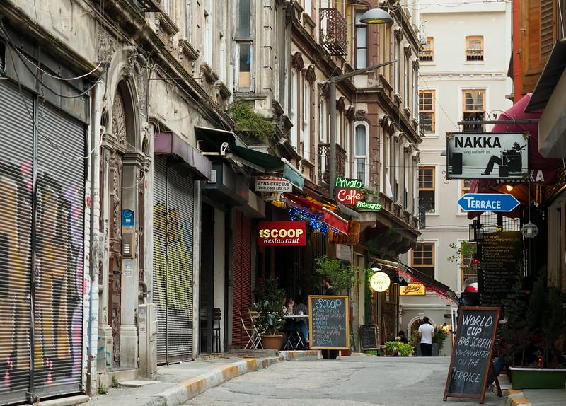 Near Galata Tower, Istanbul