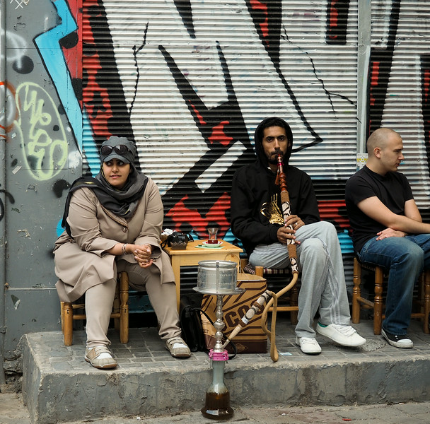 Hookah bar, Istanbul