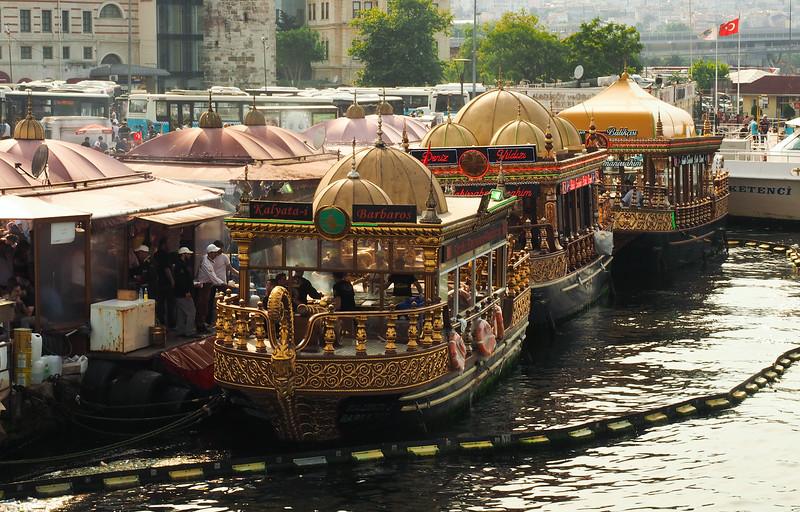 Boats near Sultanahmet, Istanbul