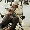 Pigeon man, Kabatas, Istanbul